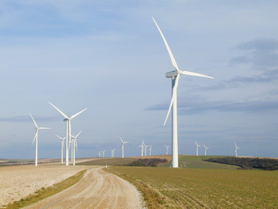 "TEXSYS has equiped the ""Côtes de Champagne"" wind farm with its Actem SCADA"