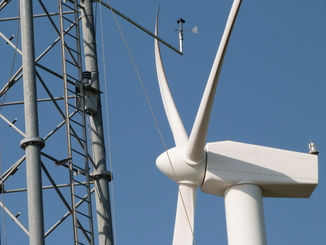 Reference met mast upgrade on Port-Saint-Louis-du-Rhône wind farm