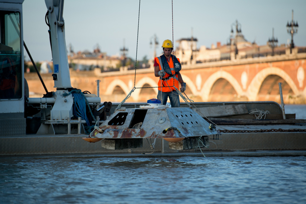 SEENEOH, a test site in Bordeaux for hydrokinetic turbines